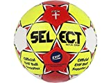 Select Maxi Grip Handball, Gelb/Rot/Weiß, 3