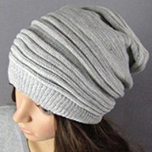 Hot Fashion Slouch Baggy Beanie Cap Slouchy Skull Hat Herren Damen Knit Hat (Skull Knit Beanie)