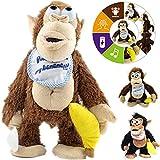 Designgearint® Interactive Crazy Monkey Toy \