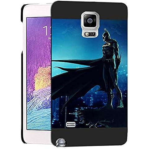 Cute Batman Samsung Note 4 Custodia Protettiva, Galaxy Note 4 Batman - [ DC Comics ] Cabina telefonica CustodiaCase, Batman Durevole Samsung Galaxy Note 4 Case Cover For Ragazzi