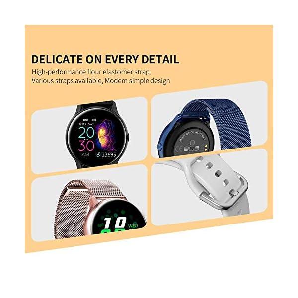 naack smartwatch, Reloj Inteligente Impermeable IP68 Pulsera de Actividad Pulsómetro Monitor de sueño Deportivo… 7