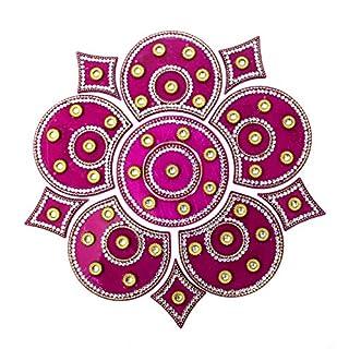 AMBA HANDICRAFT Rangoli/Home Decor/Diwali / Gift for Home/Interior Handcrafted/Floor Stickers/Wall Stickers/Wall Decoration/Floor Decoration/New Year Gift/Party. Rangoli 68