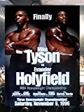 CLASSIC POSTERS Mike Tyson vs Evander Holyfield Reproduktion Boxen promo Foto Poster 40x30 cm