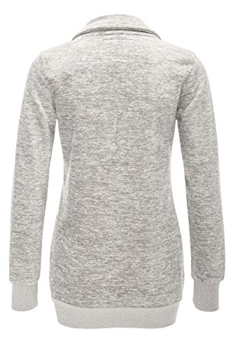 ONLY - Sweat-shirt - Femme X-Small Taupe