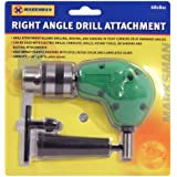 RIGHT ANGLE DRILL ATTACHMENT CHUCK KEY ADAPTER 3/8