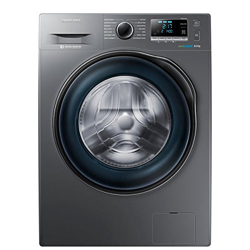 Samsung WW90J6410CX 9kg EcoBubble 1400rpm Freestanding Washing Machine - Graphite