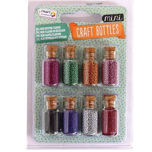 chen Sortiert Edelsteine Glitzer oder Perlen Fee Gläser - Miniatur Perlen ()