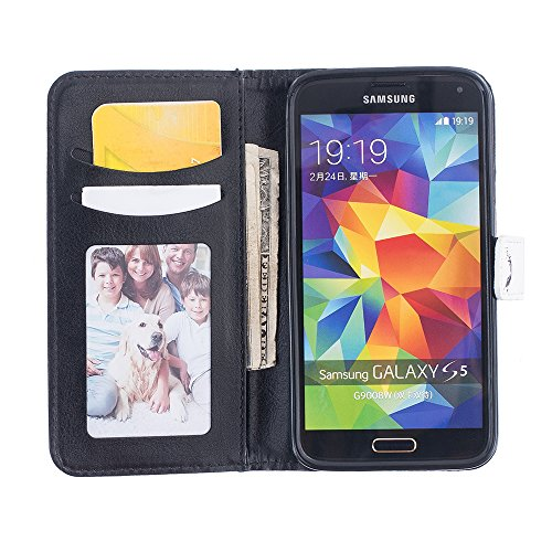 Linvei Handytasche for Samsung Galaxy S7 flip leder handyhülle mit Bunte Printing Muster Wallet Case und TPU Inner Backcover Color 4