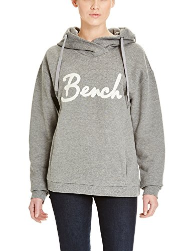 Bench Damen Kapuzenpullover IMPULSION, Gr. Medium, Grau (Mid Grey Marl GY001X)