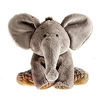 Schaffer 4230 Sugar Elephant Cuddle Toy, 13 cm, Grey, Multicoloured