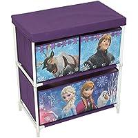 Preisvergleich für Disney Frozen Kids Spielzeug Stauraum, Stoff, lila, 60x 53x 30cm