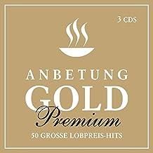 3-CD-Box Anbetung Gold Premium: 50 große Lobpreis-Hits