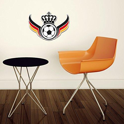 Fußballparty EM 2016 Fanartikel 3D Wandschmuck 36x27 cm CFI2038-K4
