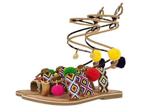 Gioseppo Amuleto, Sandales fille Varios colores (Multicolor)