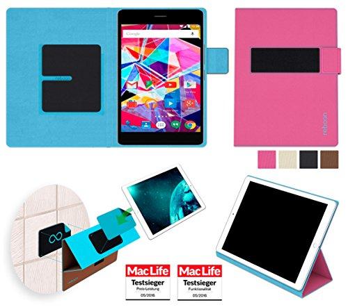 reboon Hülle für Archos Diamond Tab Tasche Cover Case Bumper | in Pink | Testsieger