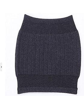 Faja calientarriñones elástica unisex para invierno en cachemir HugeStore–Calentador para vientre, zona lumbar...