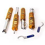 maXpeedingrods Gewindefahrwerk für Golf 2 Stoßdämpfe Strebe Coilover Kit
