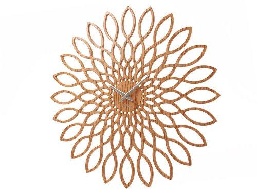 karlsson-sunflower-orologio-da-muro-in-legno-mdf