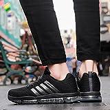 Fexkean Unisex Sportschuhe Laufschuhe Turnschuhe Atmungsaktiv Sneakers Air Sport Casual Shoes Herren Damen - 6