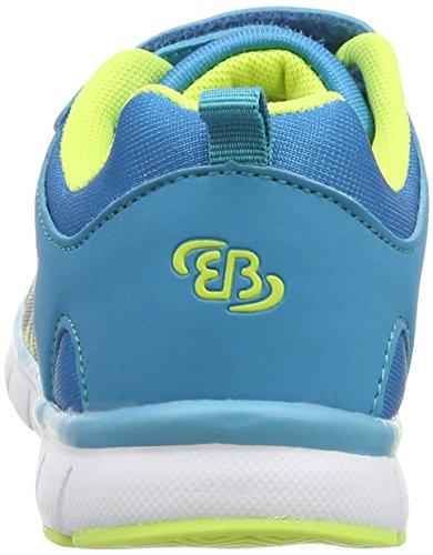 Bruetting Unisex-Kinder Creation Vs Laufschuhe Blau (blau/lemon)