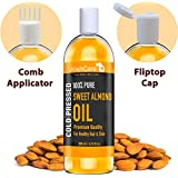 [Sponsored]WishCare Pure Cold Pressed Sweet Almond Oil For Hair And Skin- 200 Ml