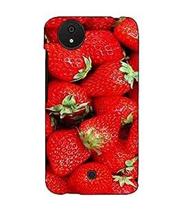 Fuson Designer Back Case Cover for Micromax Canvas Android A1 AQ4501 :: Micromax Canvas Android A1 (Red cherry theme)