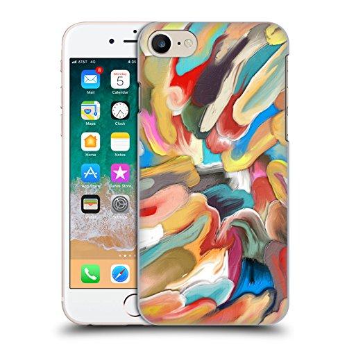 Offizielle Giulio Rossi Pinsel Striche Kollektion Ruckseite Hülle für Apple iPhone 6 / 6s Acrylic