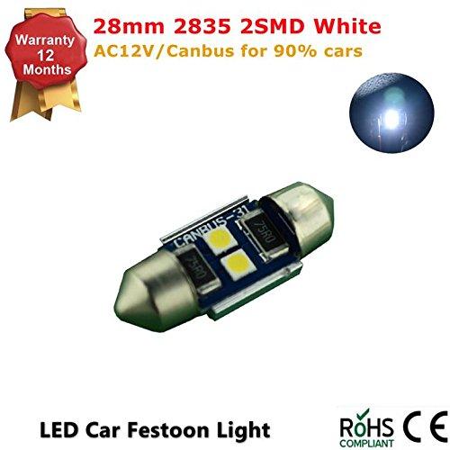 white-28mm-2-smd-2835-led-ac-12v-festoon-dome-light-led-bulbs-pack-of-1