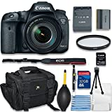 ALS VARIETY Canon Eos 7D Mark II with Wi-Fi Digital SLR Camera with EF-S 18-55 mm is STM Bundle Includes Camera, 32GB Memory Card Cleaning Kit