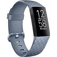 Oumida für Fitbit Charge 3 Armband/Fitbit Charge 4 Armband, Verstellbarer klassischer Sport Ersatzarmband Kompatibel mit…