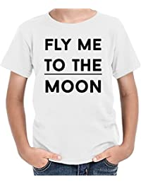 Fly me to the moon Camiseta niños