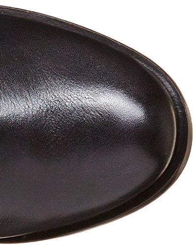 Neosens - Gloria 188, Stivali classici al ginocchio Donna Noir (Ebony)