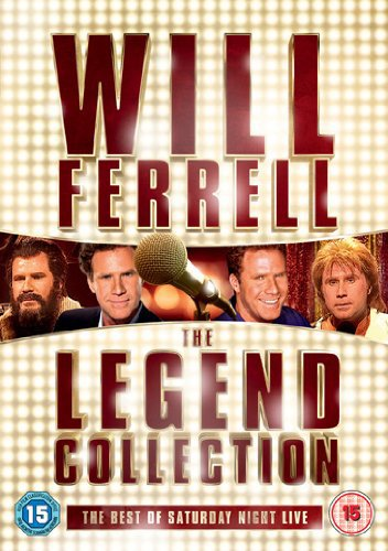 Will Ferrell - The Legend Collection: The Best of Saturday Night Live (3 DVDs)