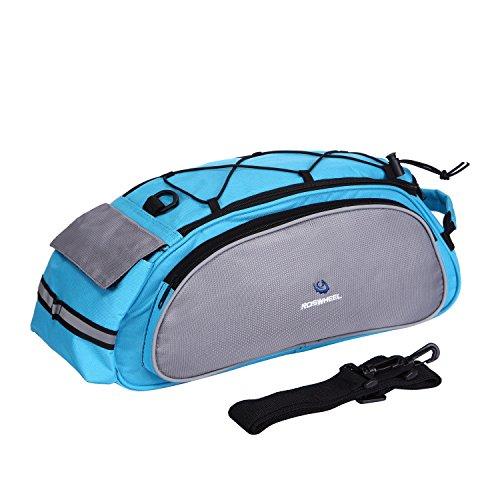 Fafada Multifunktions Fahrrad Radfahren MTB Radfahren Fahrrad-Rahmen-Pack Gepäckträger Sitz Multifunktionale Tasche (Blau)