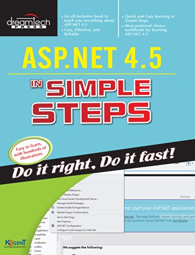 ASP.NET 4.5 in Simple Steps
