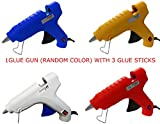 #4: oz 40 WATT HOT MELT Glue Gun with 3 Glue Sticks (Assorted Color)