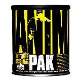 Animal Pak: El auténtico y original desde 1983 En lo que se refiere a nutrición, todo empieza aquí, con Animal Pak. Es tu base y tu seguro nutricional. Puedes empezar con el Pak como suplemento básico inicial y luego ir añadiendo otros produc...