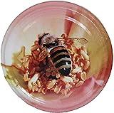 50 Stück 82er Twist Off Deckel Biene auf Rose Preis pro Stück 0,298 Euro