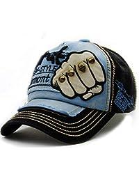 XZDXR Gorra de béisbol versión masculina coreana de la marea masculina moda  deportes al aire libre sol sombrero sombrero de… 94c4fda6de2