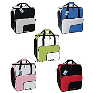 Brubaker Skischuhtasche Skischuhrucksack Helmtasche SUPER FUNCTION Komfort Stiefeltasche mit Rucksackfunktion Wintersporttasche