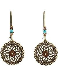 d67503b57dc JAKU 1 par retro pendiente de la turquesa pendiente turquesa cuelga pendiente  pendiente pendiente regalo