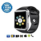 #3: Captcha Latest Edition Smart Watch With Sim/Memory Card Slot, Camera For Men/Women/Kids (Color May Vary)