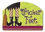 Tricker Feet Yard Sign - 14 x 10