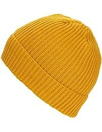 WanYang Unisex Sombrero Caliente Invierno Casual Beanie Gorros de Punto  Sombrero de Beanie 3854a6c75f8