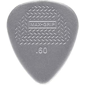 Jim Dunlop 449P.60 Nylon Max Grip Guitar Pick Player Pack (Pack of 12)