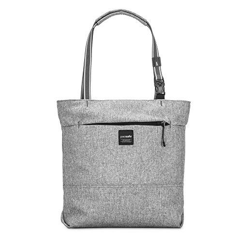 Pacsafe Slingsafe Lx200 Anti-theft Compact Tote, Tweed Grey