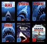 1-4 / Der weiße Hai in Venedig / Shark Attack (6 DVDs)