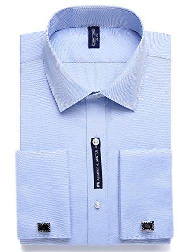J.Ver Chemise Business Homme à Langarm Taille Régulière (Regular Fit,) Blau