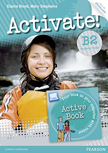 Activate! B2 Students' Book with Access Code and Active Book Pack por Elaine Boyd