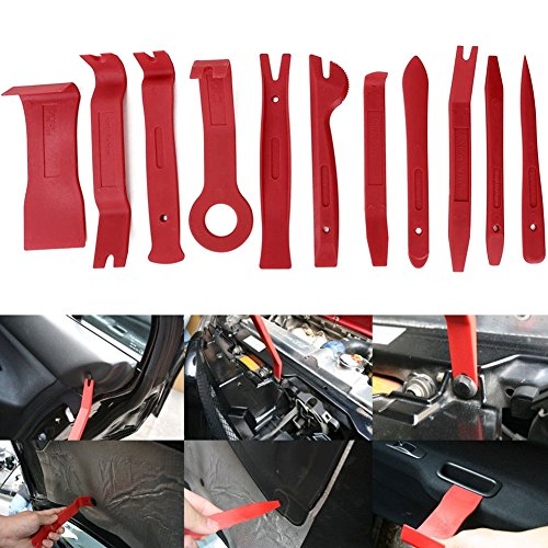 11Teile Auto Radio Panel Interior Tür Clip Panel Pry Tool Trim Armaturenbrett Entfernung Opening Tool Set DIY Auto Repair Werkzeug Kit